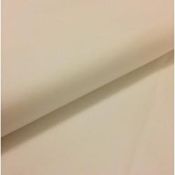 Bílý bavlněný úplet