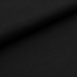 Černý bavlněný úplet 215g