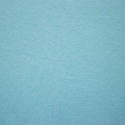 Jednobarevný melírovaný úplet aqua
