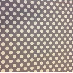 Softshell s puntíky na šedé