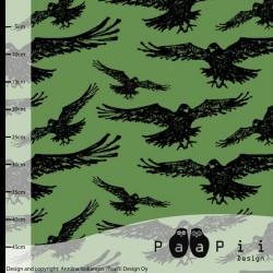 Bio teplákovina Vrány na zelené