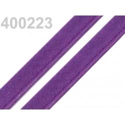 Pasulka fialová bavlněná 12mm