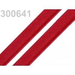 Pasulka červená bavlněná 12mm