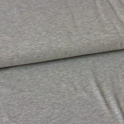 Bavlněný úplet šedý melír 215g