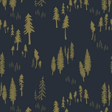 Bavlněný úplet Timberland Woodlands