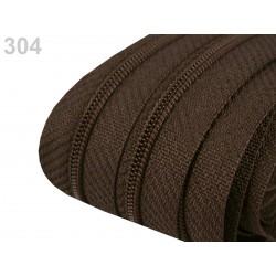 Zip spirálový 3 mm - Friar Brown