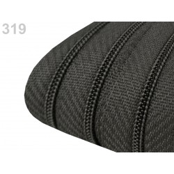 Zip spirálový 3 mm - Steel Gray