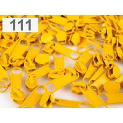 Jezdec ke spirálovým zipům 3mm - Daffodil