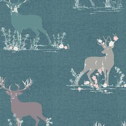 Bavlněný úplet Dear Deer
