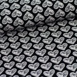 Srdce na černé
